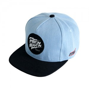 DENIM LOGO SNAPBACK (light-blue)