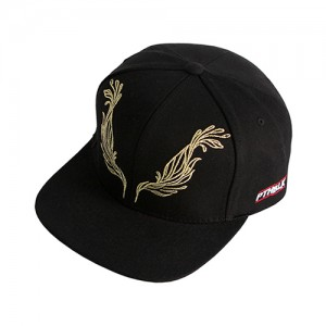 FEATHER SNAPBACK (black)