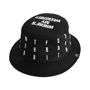 WEEKEND BUCKETHAT (black)