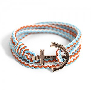 Anchor Bracelet And Necklace (BZ12)