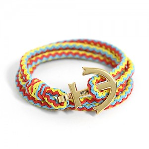 Anchor Bracelet And Necklace (GD18)