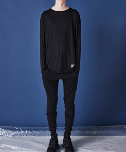 MINERAL LAYERED TEE (BLACK)