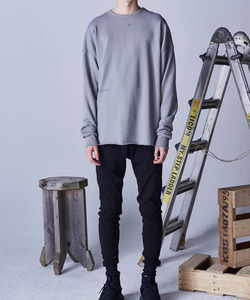 BIO CUTTING CREWNECK (GREY)