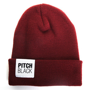 BIG LABEL BEANIE (wine)