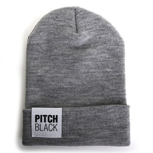 BIG LABEL BEANIE (gray)