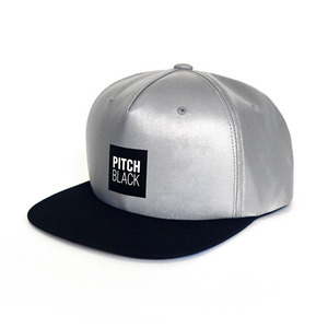 LUMINOUS SNAPBACK (silver)