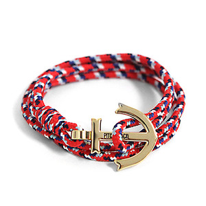 Anchor Bracelet And Necklace (BL01-GD3)