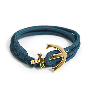 Anchor Bracelet And Necklace (BL01-GD9)