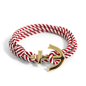 Anchor Bracelet And Necklace (BL01-GD14)